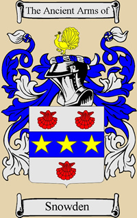 Ancient Arms of Snowden